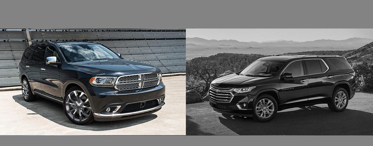 2018 Dodge Durango vs 2018 Chevrolet Traverse | Albuquerque NM