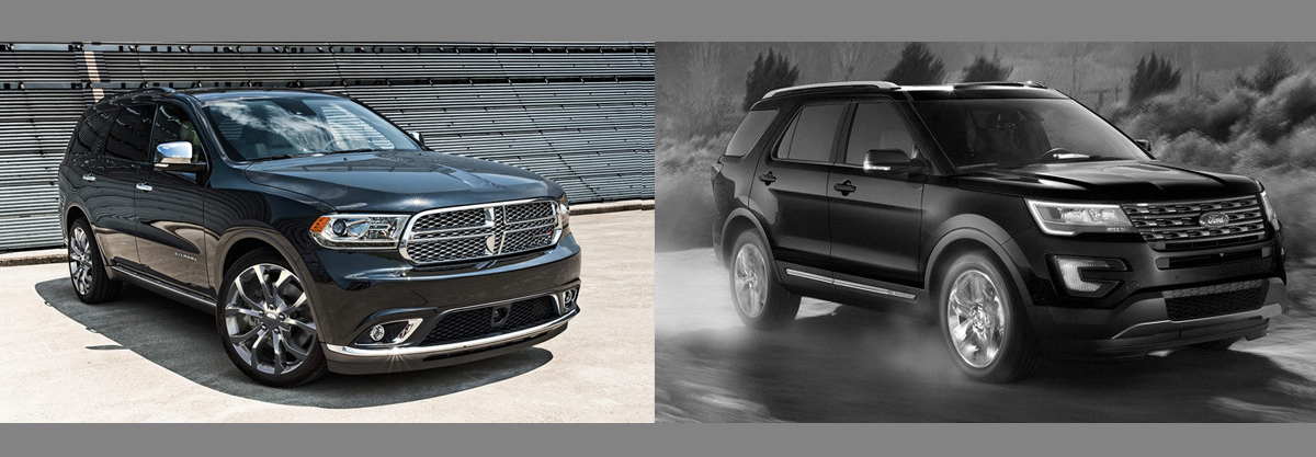2018 Dodge Durango vs 2018 Ford Explorer in Albuquerque NM