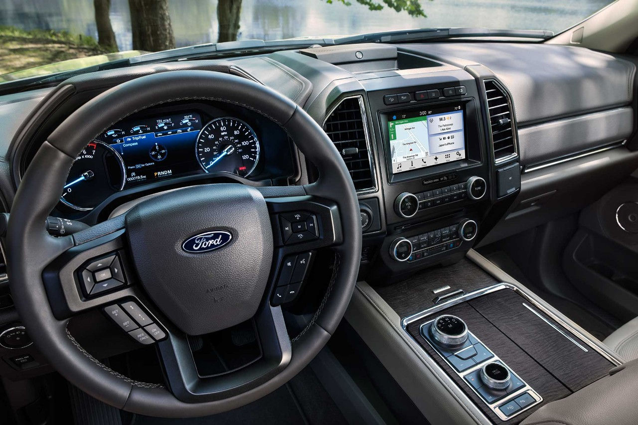 Dubuque IA - 2018 Ford Expedition Interior