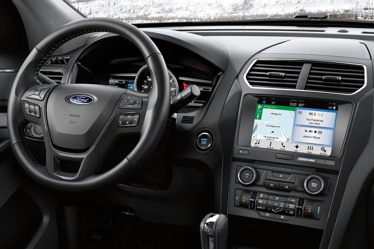 Maquoketa IA - 2018 Ford Explorer Interior