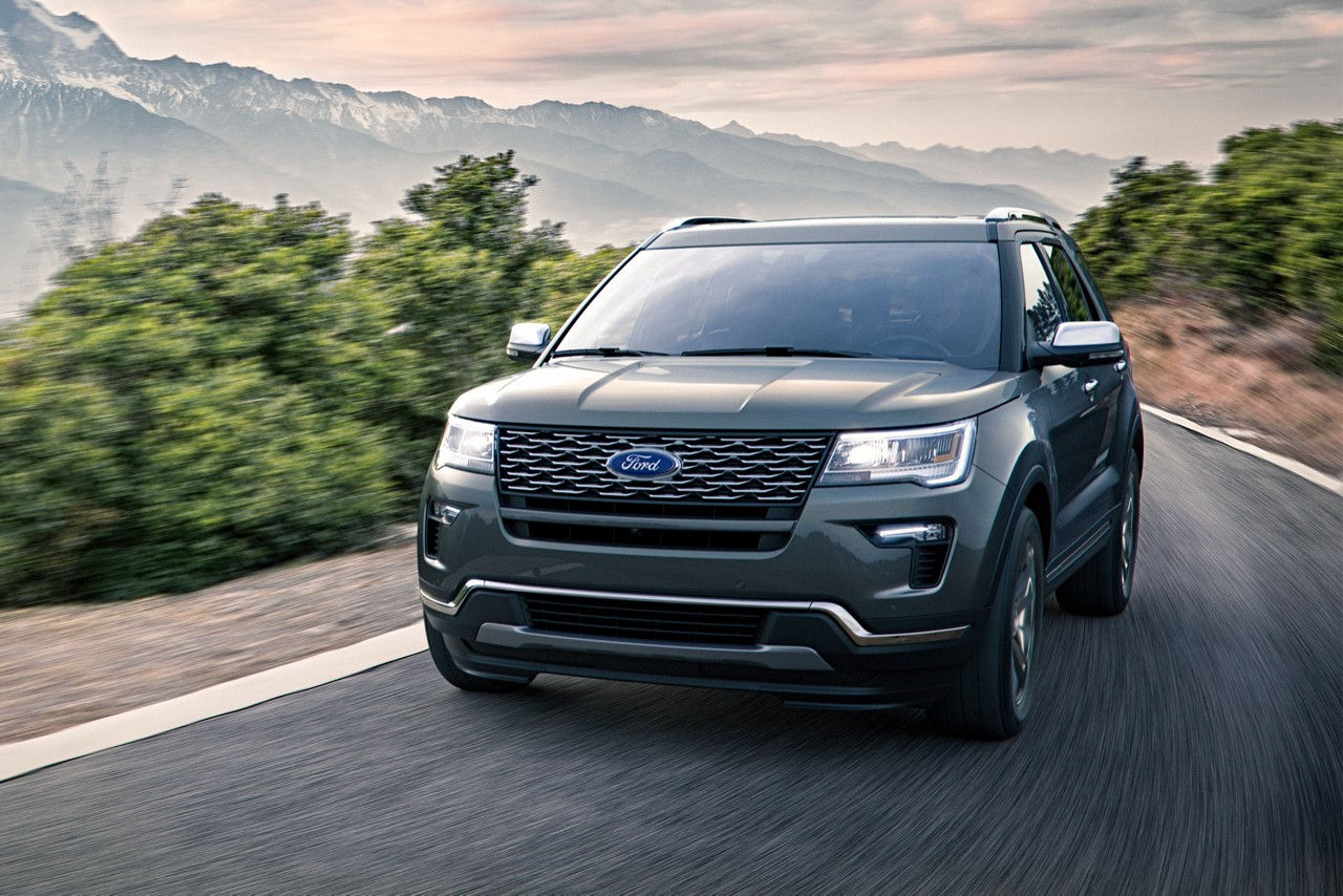 2018 Ford Explorer Trim Levels in Maquoketa Iowa