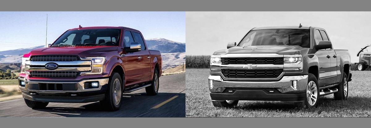 F150 Vs Silverado >> 2018 Ford F 150 Vs 2018 Chevrolet Silverado Salt Lake City