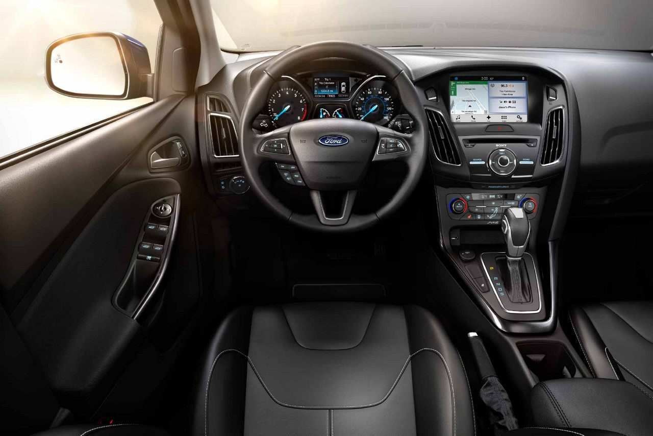 Interior - 2018 Ford Focus by Hickory NC