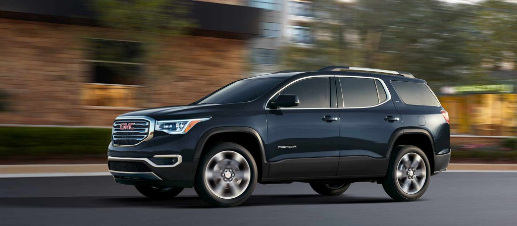 2018 Gmc Acadia Trim Levels Pueblo Colorado Wilcoxson Auto