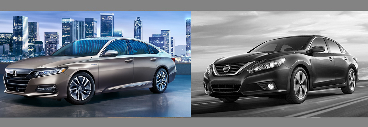 2018 Honda Accord vs 2018 Nissan Altima | Centennial CO