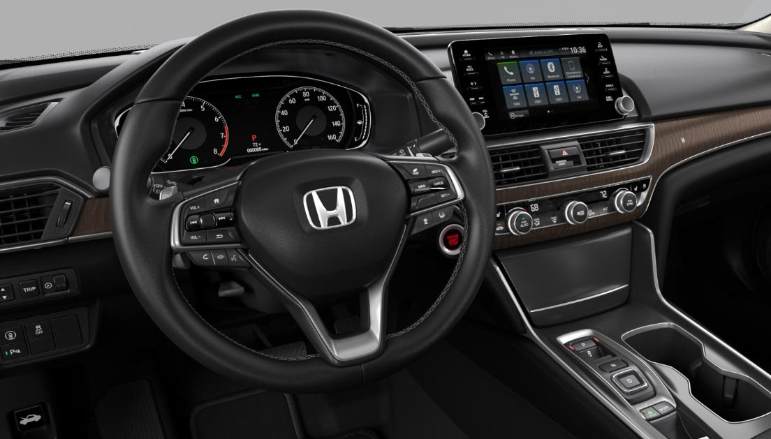 Iowa City - 2018 Honda Accord Interior