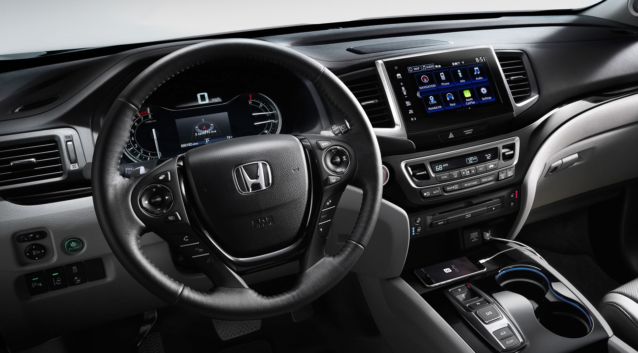 Iowa City - 2018 Honda Pilot Interior