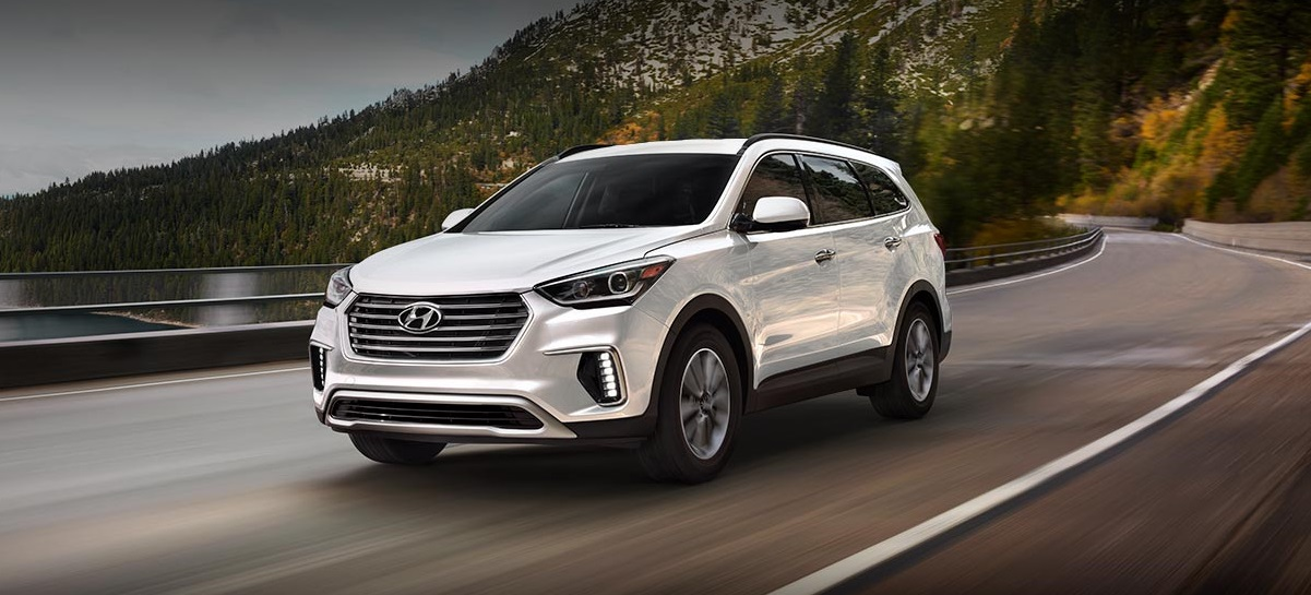 2018 Hyundai Santa Fe Trim Levels near Detroit MI