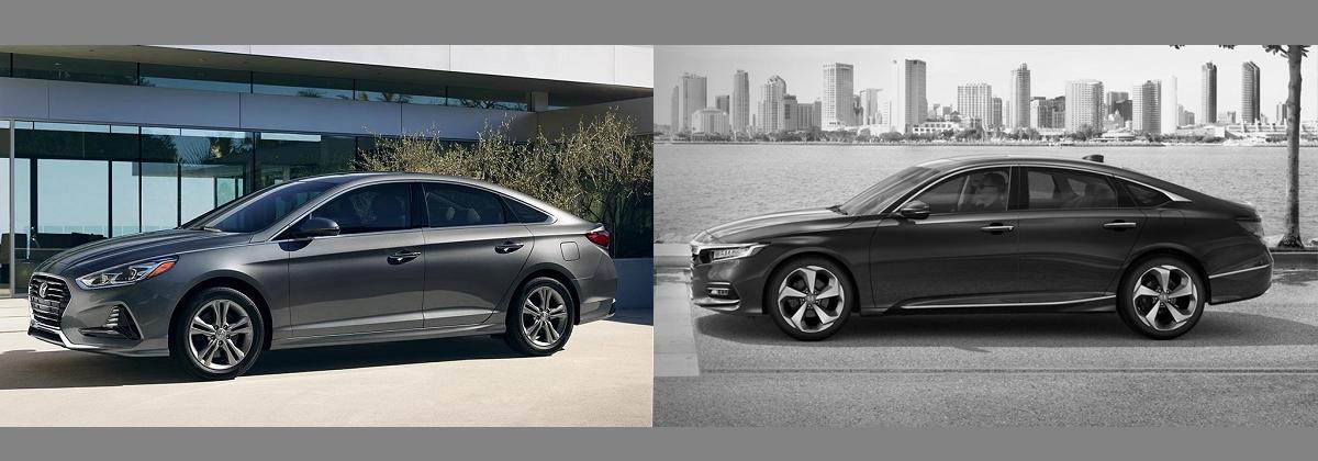 2018 Hyundai Sonata vs 2018 Honda Accord in Southfield MI