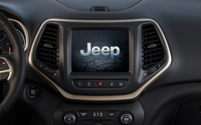 Greensboro NC - 2018 Jeep Cherokee High Altitude's 8.4-inch touchscreen display