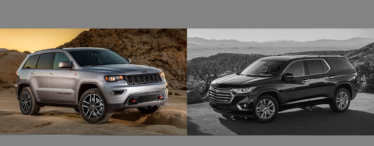2018 Jeep Grand Cherokee vs 2018 Chevrolet Traverse | Wabash IN