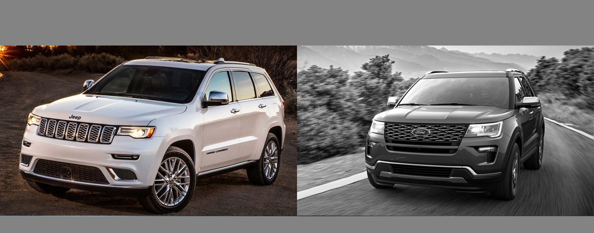 2018 Jeep Grand Cherokee vs 2018 Ford Explorer | Chicago Illinois
