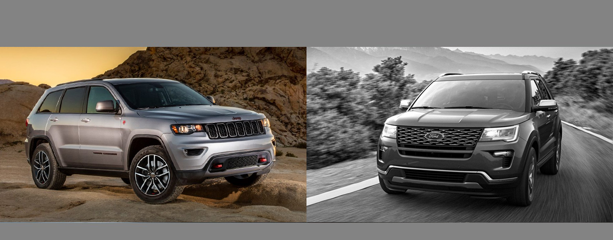 2018 Jeep Grand Cherokee vs 2018 Ford Explorer | Lexington NC