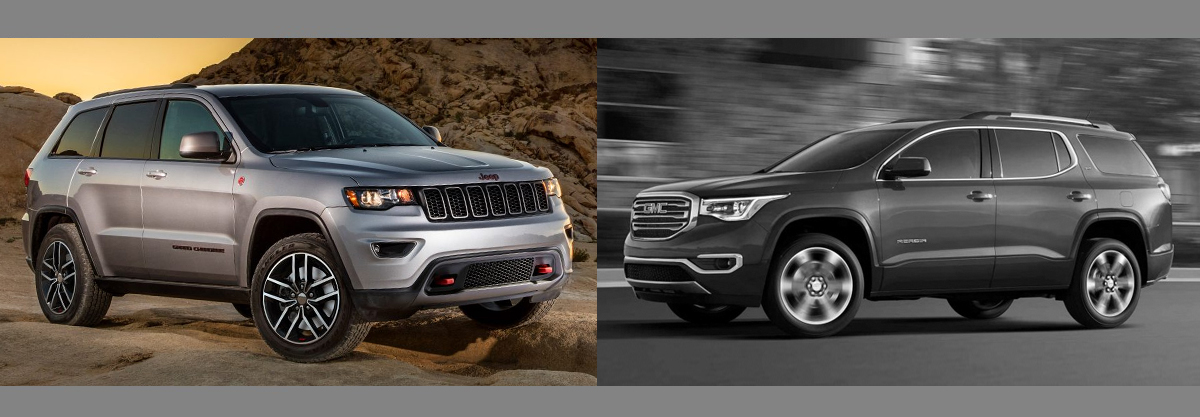 2018 Jeep Grand Cherokee vs 2018 GMC Acadia | Boulder CO