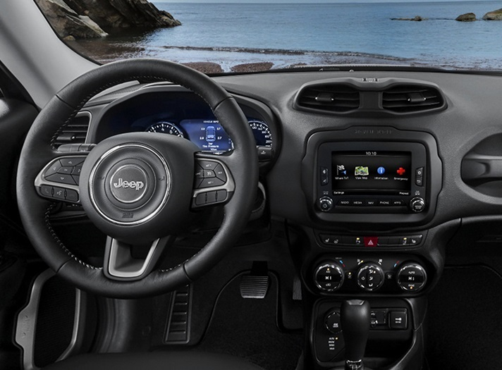 Thornton Area - 2018 Jeep Renegade's Interior