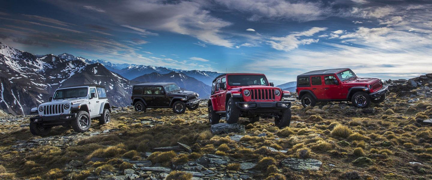 Trim Levels - 2018 Jeep Wrangler near Longmont CO