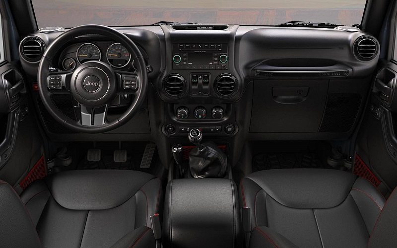 Denver Area - 2018 Jeep Wrangler JK Rubicon Recon's Interior