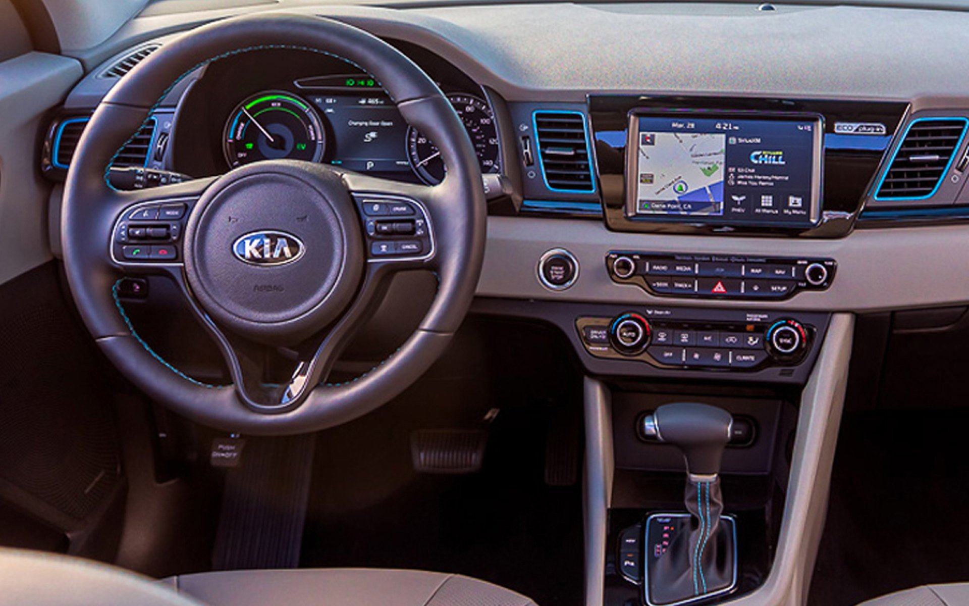 Michigan - 2018 KIA NIRO Plug-In Hybrid's Interior
