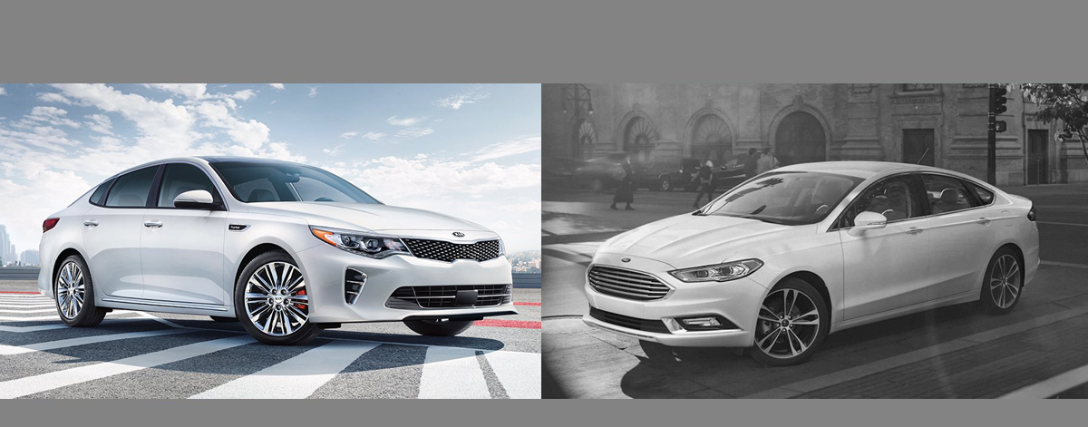 2018 KIA Optima vs 2018 Ford Fusion | Southfield MI