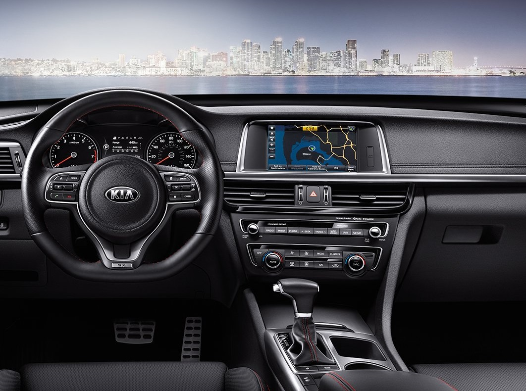 Detroit Michigan - 2018 KIA Optima's Interior