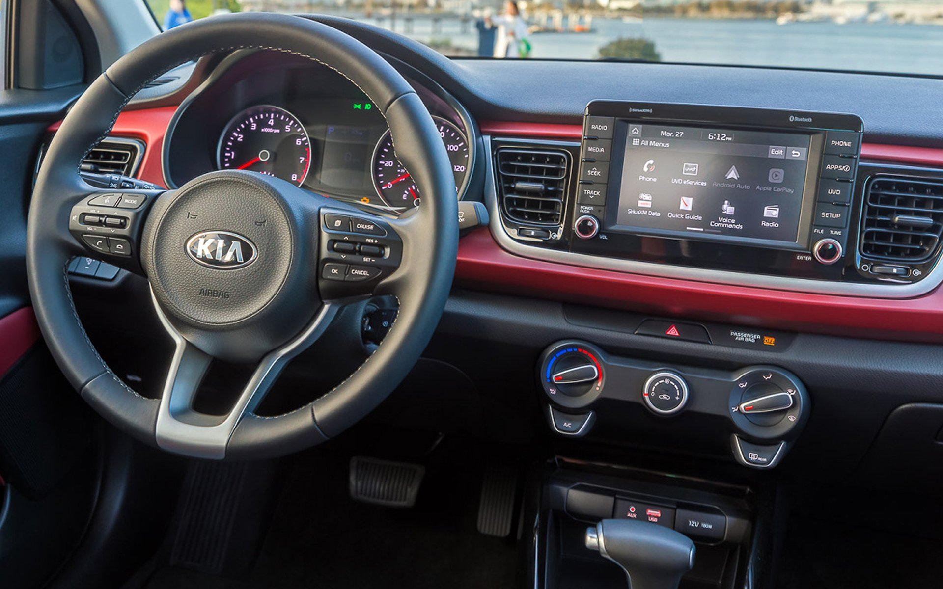 Michigan - 2018 KIA Rio's Interior