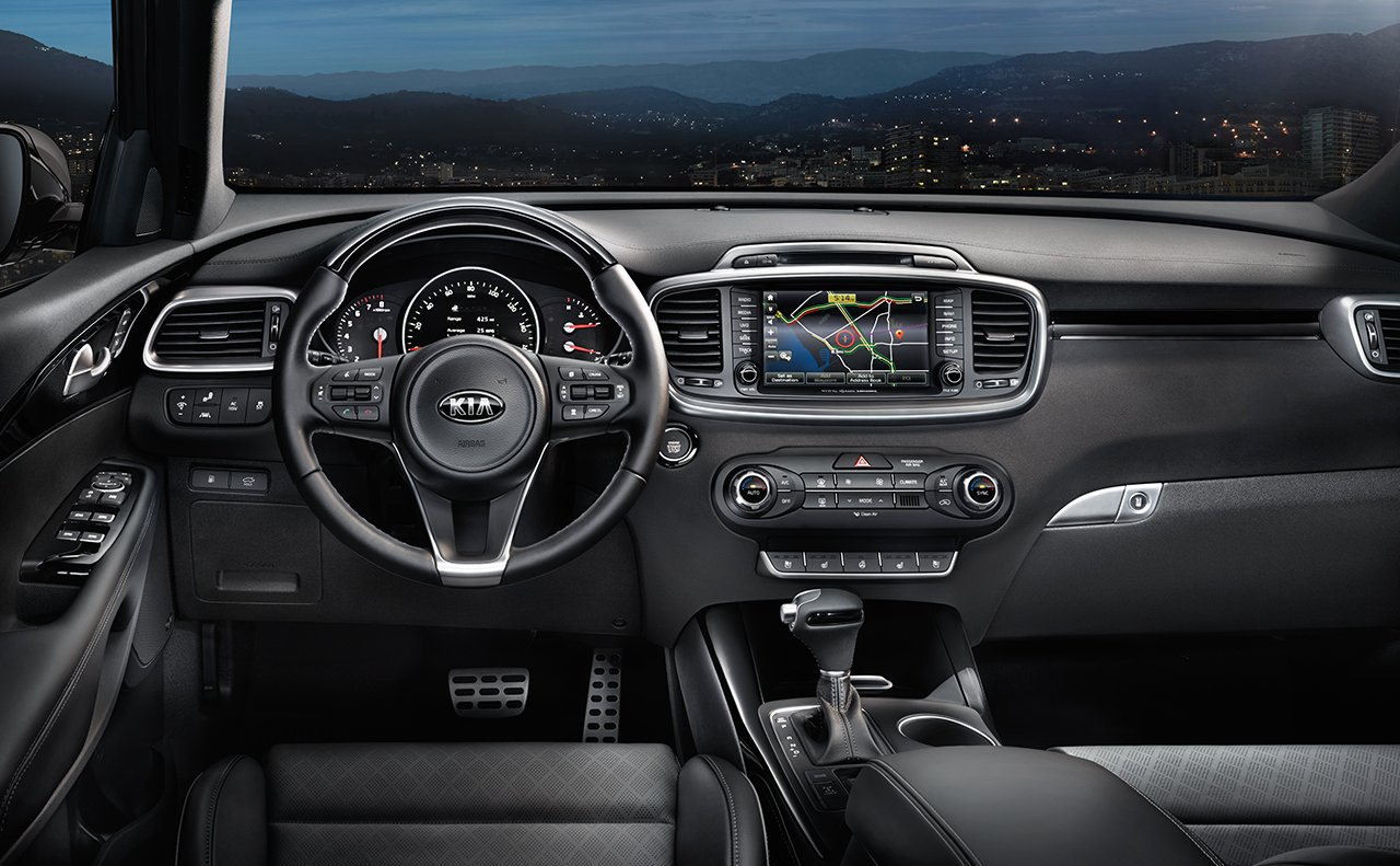 KIA Repair serving Burlington NC - 2018 Kia Sorento's Interior
