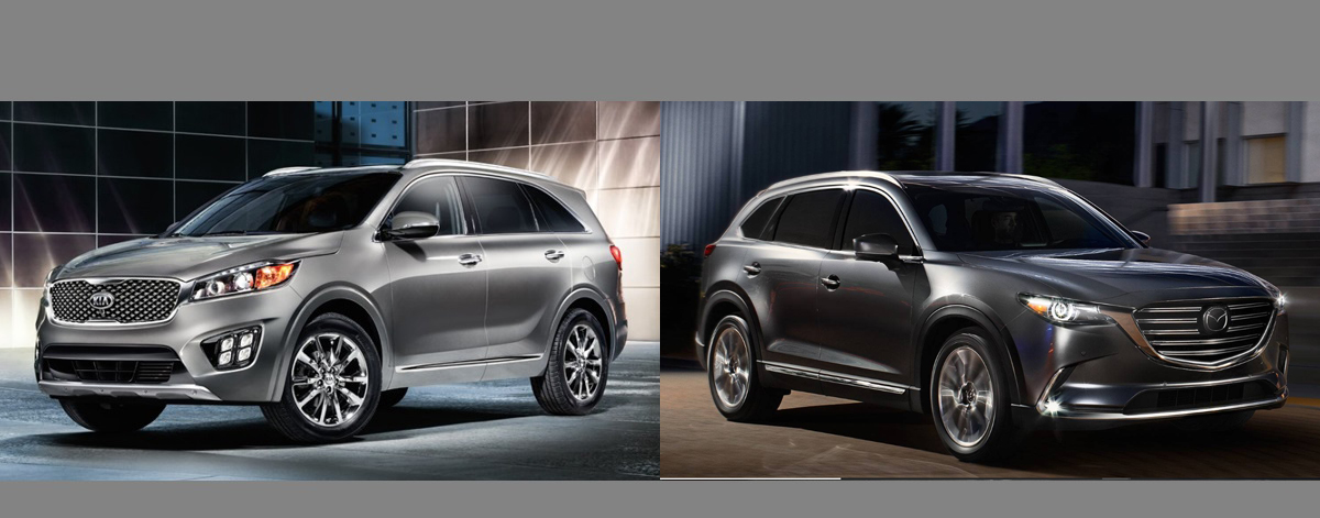 2018 Kia Sorento vs 2018 Mazda CX-9 - Denver area