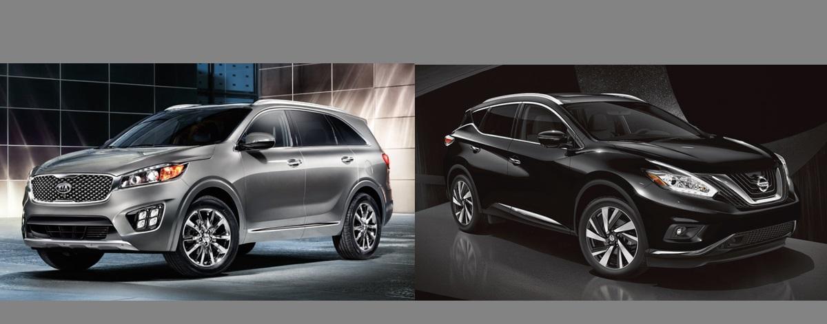 Compare 2018 KIA Sorento vs 2018 Nissan Murano | Southfield MI