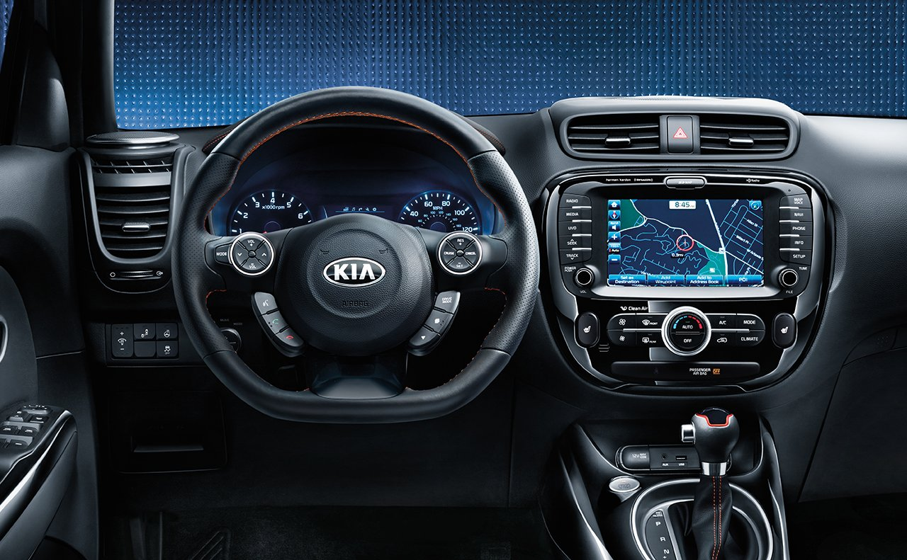 Greensboro NC - 2018 Kia Soul's Interior