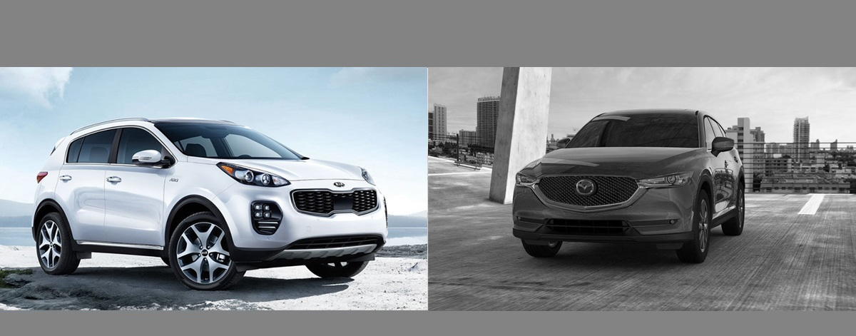 2018 Kia Sportage vs 2018 Mazda CX-5 | Denver CO Area