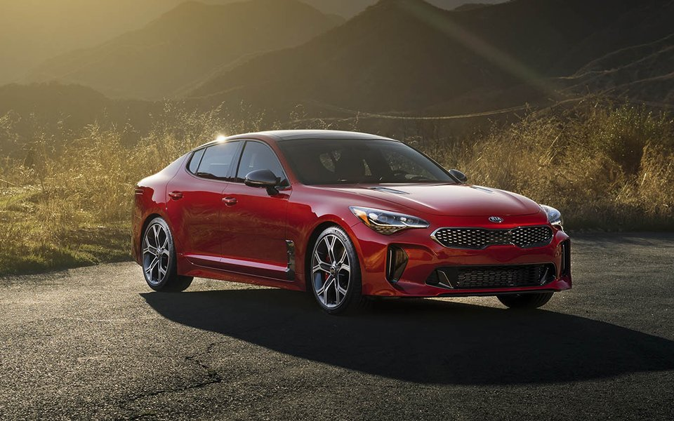 2018 Kia Stinger Trim Levels in Greensboro NC