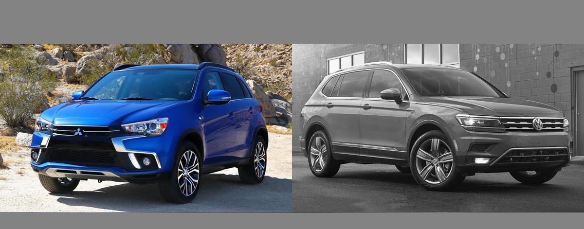 2018 Mitsubishi Outlander Sport vs 2018 VW Tiguan l Thornton CO