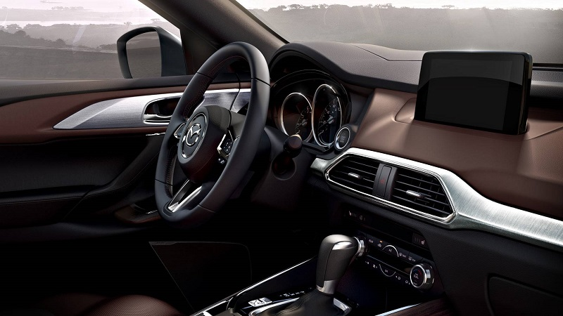 Charlotte NC - 2018 Mazda CX-9's Interior