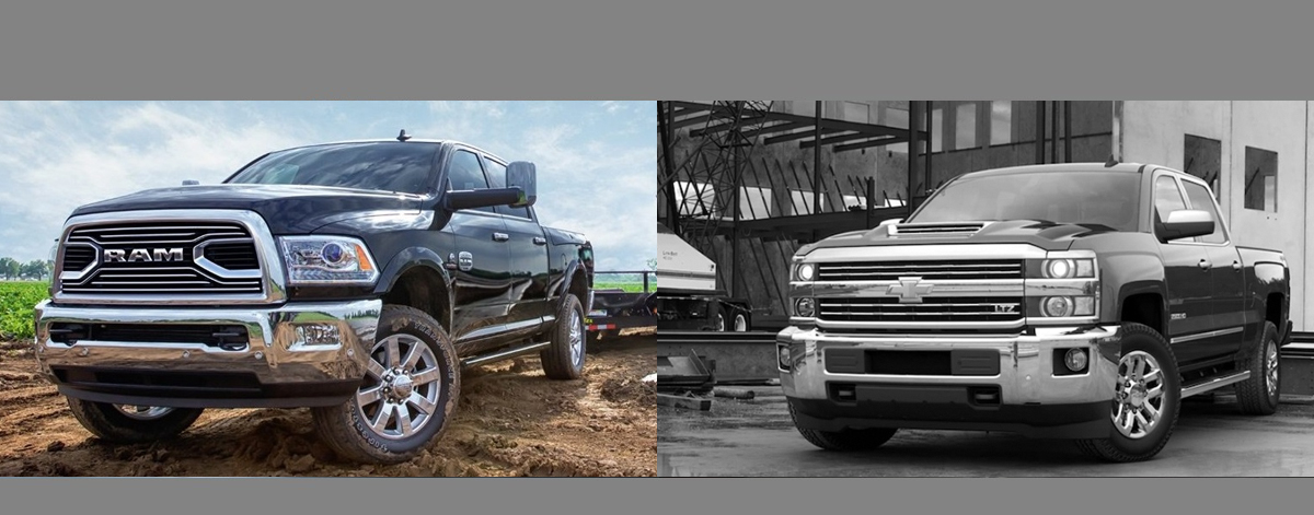 Albuquerque NM 2018 RAM 2500 vs 2018 Chevrolet Silverado 2500