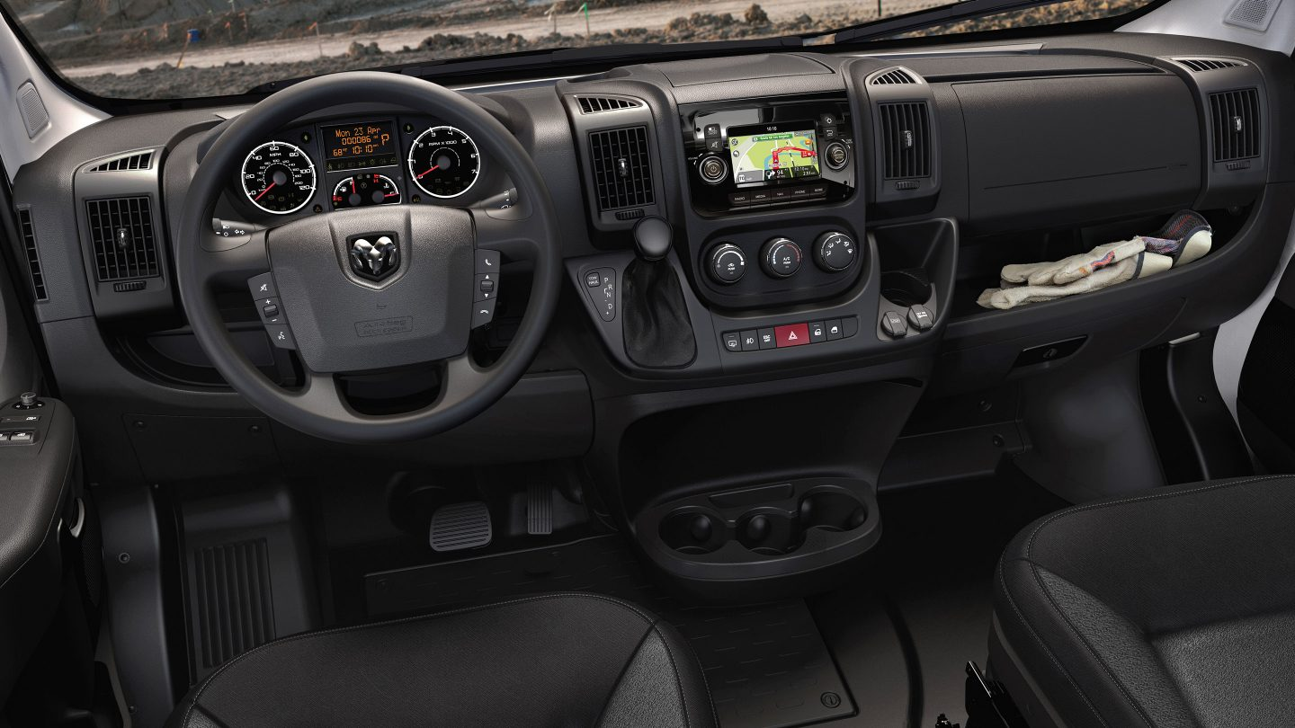 Albuquerque RAM Dealership - 2018 Ram ProMaster's Interior