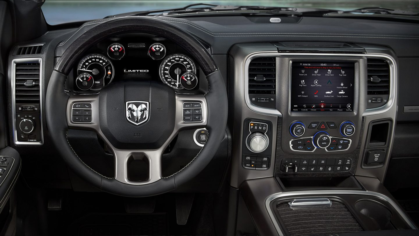 Fort Wayne IN - 2018 RAM Limited Tungsten Edition's Interior