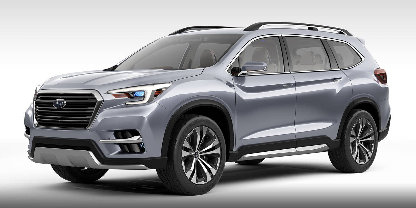 Subaru Ascent SUV Concept near Detroit MI