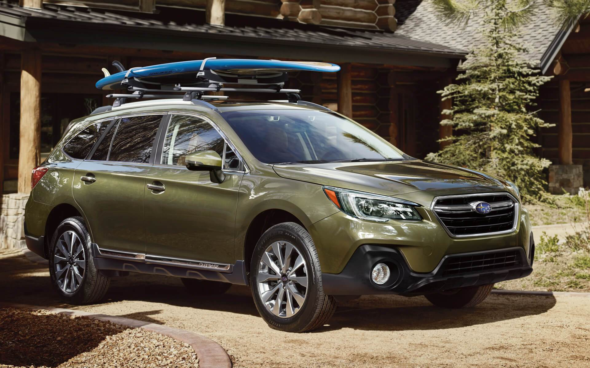 2018 Subaru Outback Vs 2017