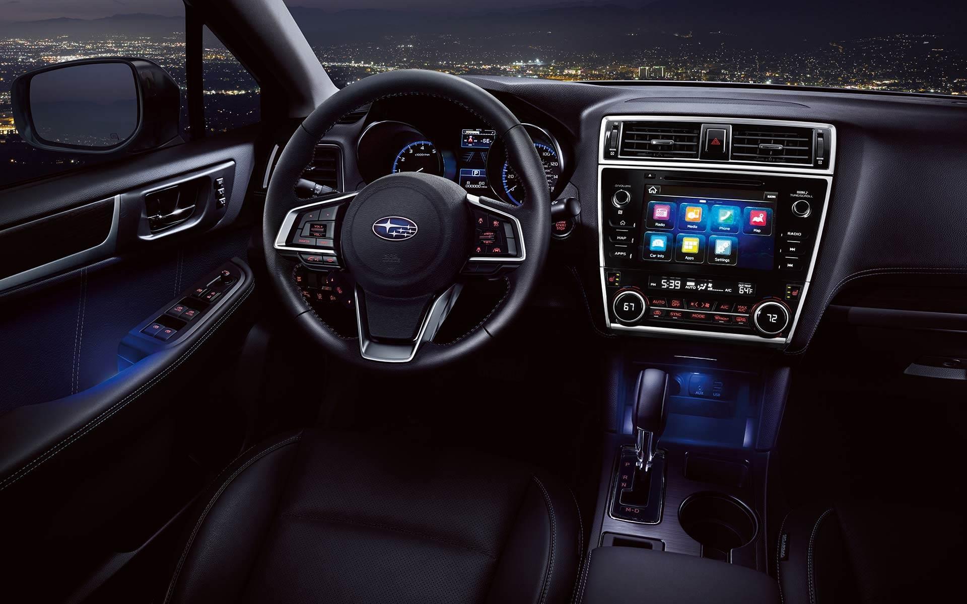 Denver Colorado 2017 Subaru Legacy S Interior