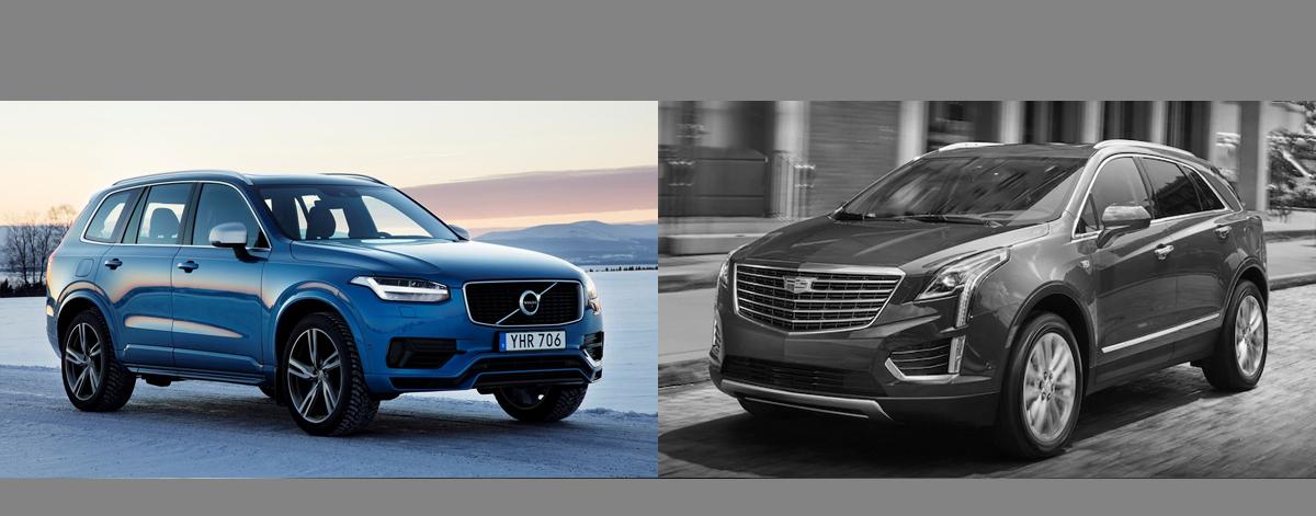 2018 Volvo XC90 vs 2018 Cadillac XT5 in Scottsdale AZ ...