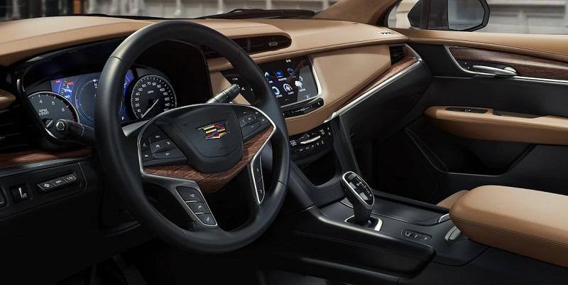 Maquoketa IA - 2019 Cadillac XT5's Interior