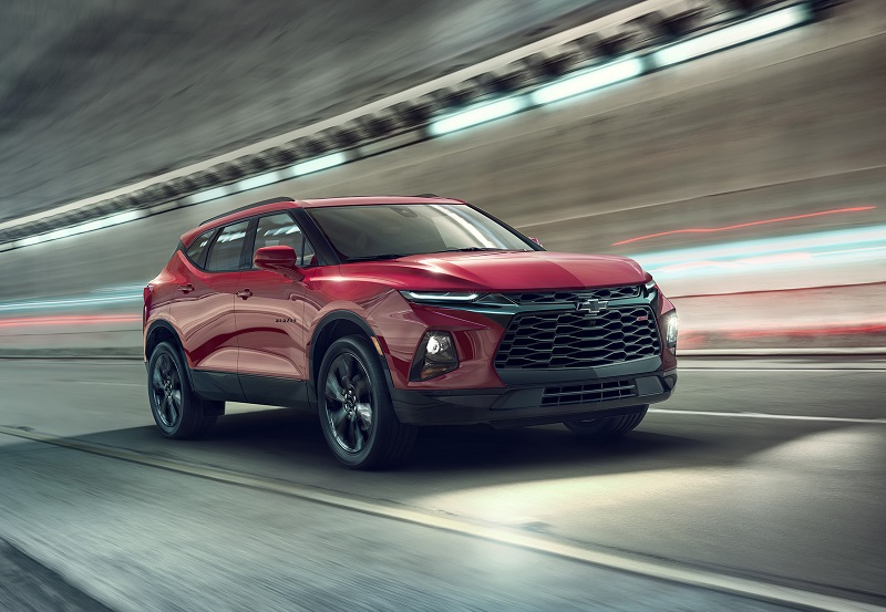 Hutto TX - 2019 Chevrolet Blazer's Exterior