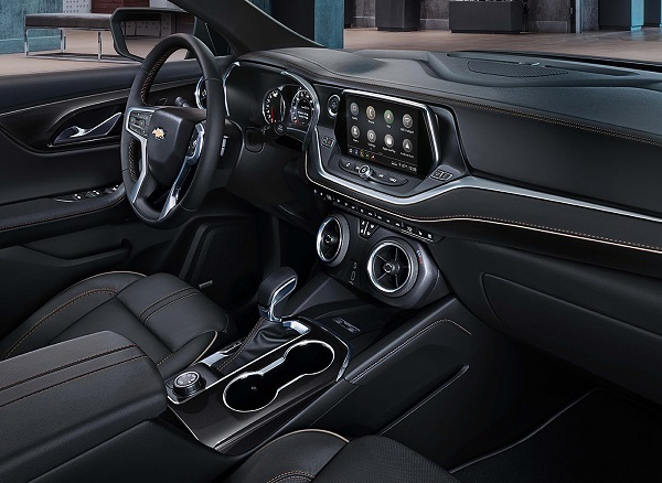 Elgin TX - 2019 Chevrolet Blazer's Interior