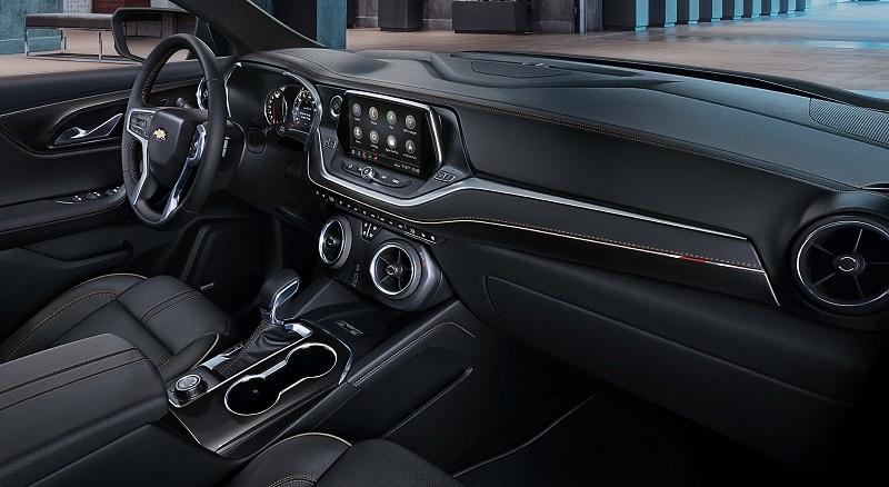 Clinton Iowa - 2019 Chevrolet Blazer Interior