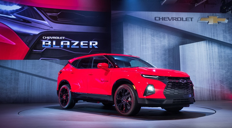 2019 Chevrolet Blazer Lease and Specials in Hutto TX