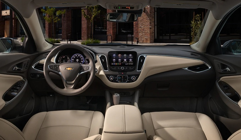 Eldridge IA - 2019 Chevrolet Malibu Interior