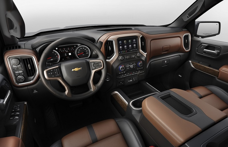 Hutto Texas - 2020 Chevrolet Silverado HD's Interior