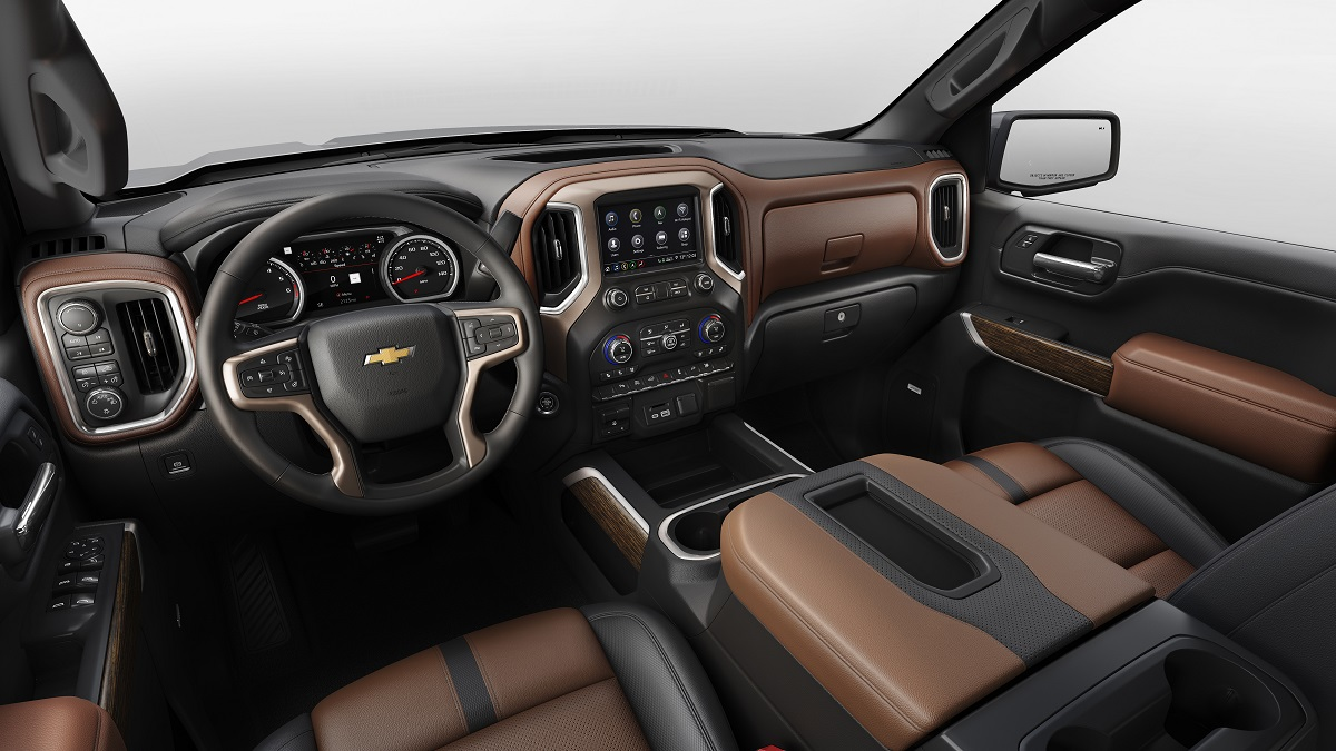 Dubuque IA - 2019 Chevrolet Silverado 1500's Interior