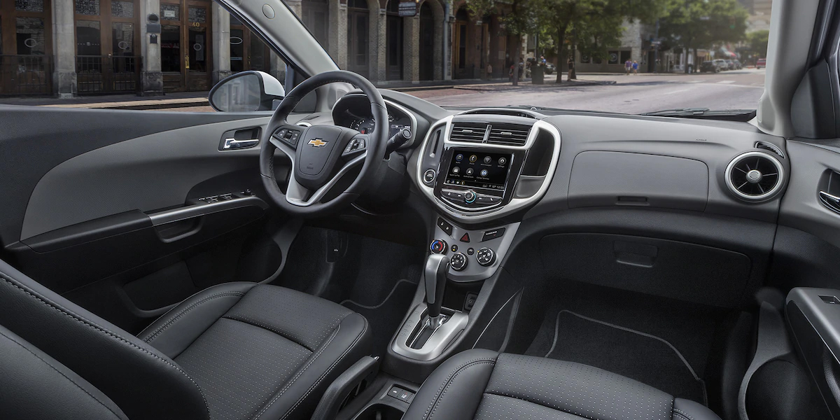 Clinton IA - 2019 Chevrolet Sonic Interior