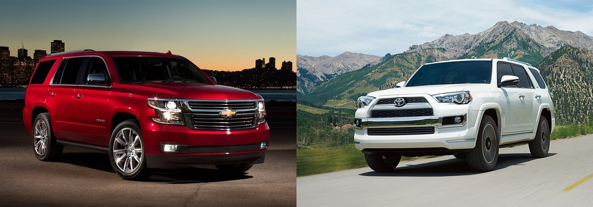 2019 Chevrolet Tahoe vs 2019 Toyota 4Runner near Round Rock TX